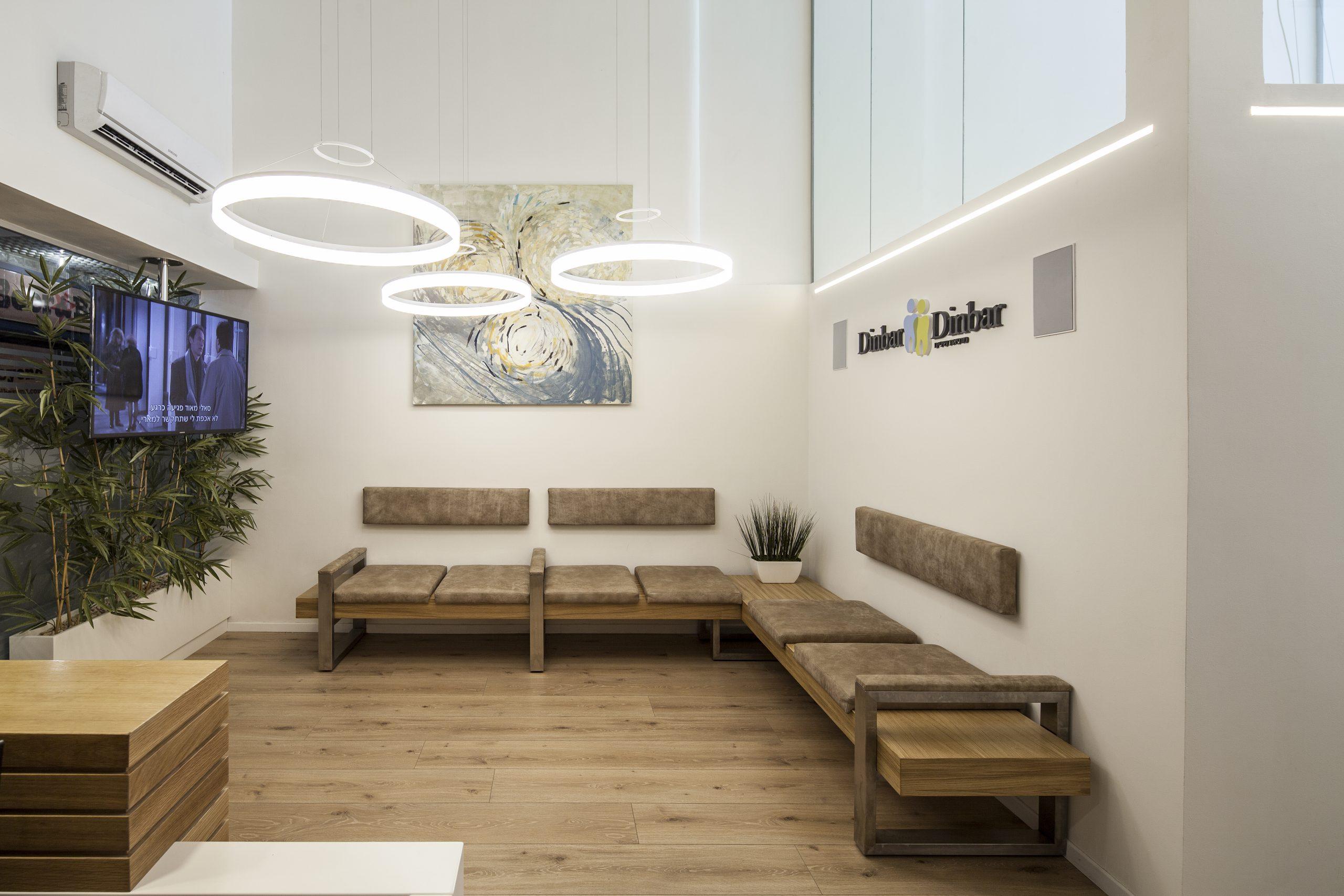 T+R studio   טלי ורקפת תכנון ועיצוב פנים למרפאת שיניים