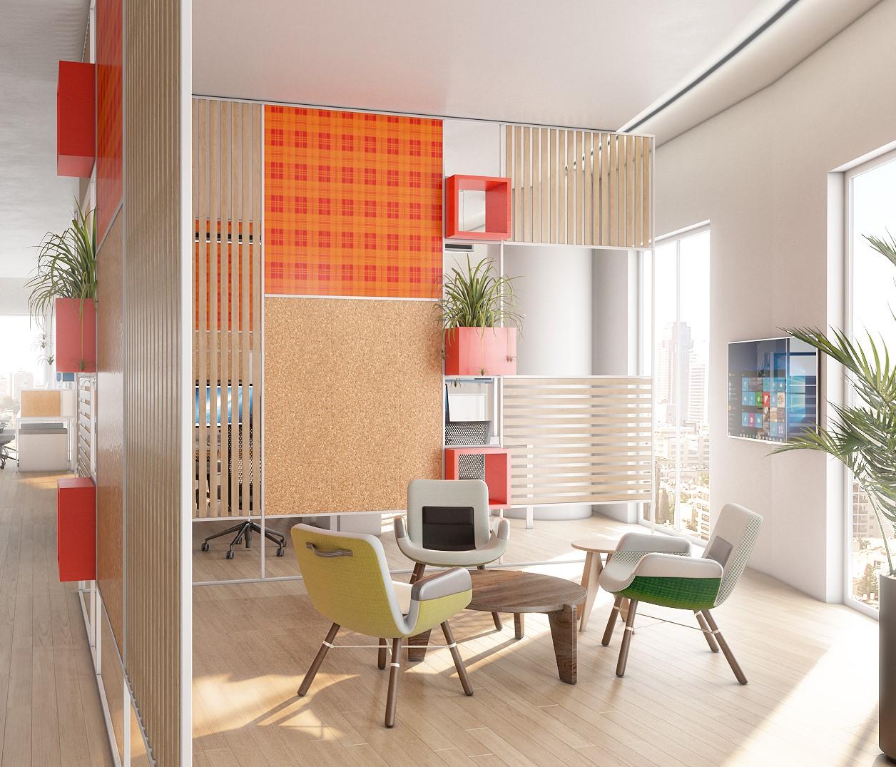 עיצוב משרדים XJET