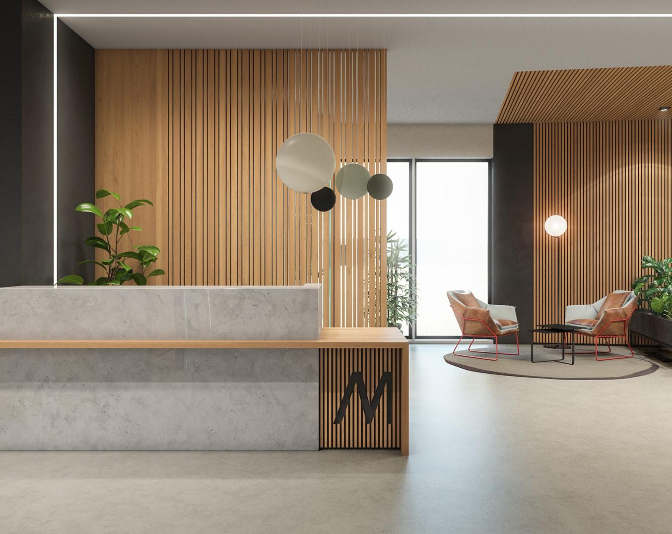 עיצוב משרדים אקספו תל אביב