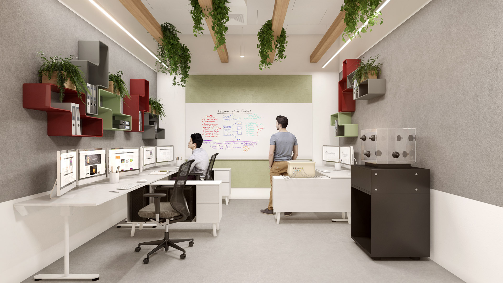 עיצוב משרדי ביוטק
