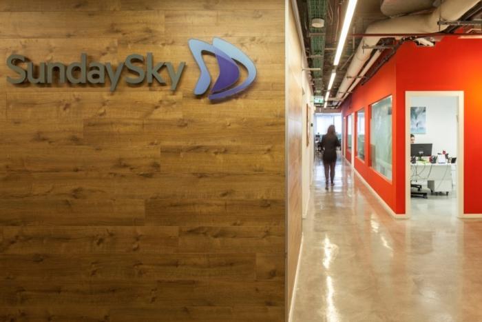 עיצוב משרדי sunday sky
