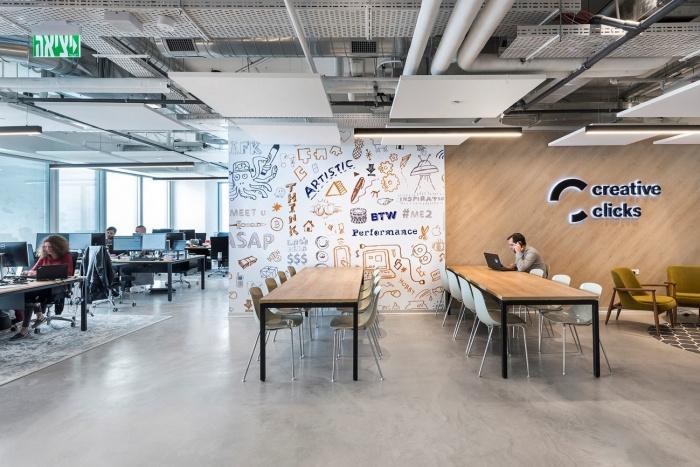 תכנון משרדי creative clicks 1